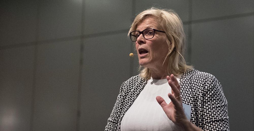 Nathalie Vrancken - spreekt tijdens Controllers dag